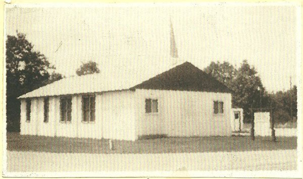 Front of the Little White Church on the Corner of 108th and Spruce in Grant MI